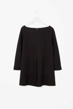 COS image 4 of Contrast lined A-line jumper in Black