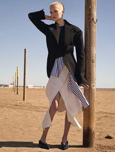 Ruth Bell by Karim Sadli for T Magazine November 2015   The Fashionography