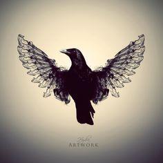 The Raven by HYDRA-Artwork.deviantart.com