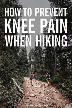 How to protect your knees while hiking. Your knees bear a great amount of weight while hiking making them vulnerable to injury. Luckily there are simple ways to care for your knees when hiking. Backpacking Tips, Hiking Tips, Camping And Hiking, Hiking Gear, Outdoor Camping, Camping Gear, Outdoor Travel, Camping Hammock, Camping List