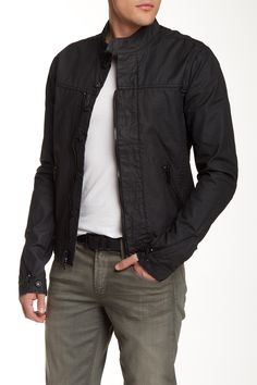 Classic Black HUDSON Jeans Jacket
