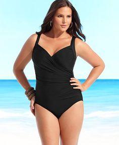 a7debaf4c72bc Miraclesuite Plus Size Swimsuit Plus Size Swimsuits