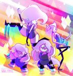 Steven Universe: Amethyst and the Amethysts! by dou-hong
