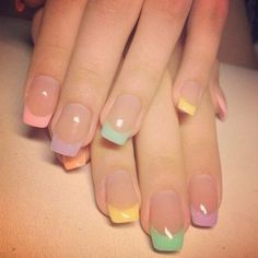 Nice 36 Awesome French Manicure Designs Ideas For Women. More at http://aksahinjewelry.com/2017/12/13/36-awesome-french-manicure-designs-ideas-women/