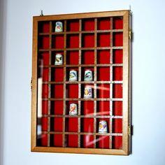 My Thimble Collection: Nowe gablotki na naparstki