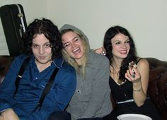 Jack White, Alison Mosshart & Lillie Mae Rische. Too much awesome for one photo.