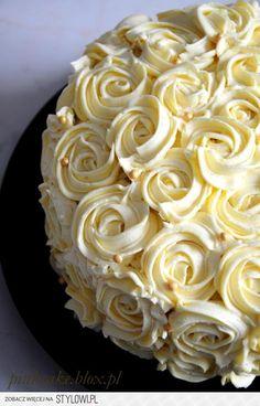 Tort z białą czekoladą Biszkopt rzucany (szklanka tutaj…