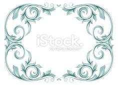 flora border Royalty Free Stock Vector Art Illustration