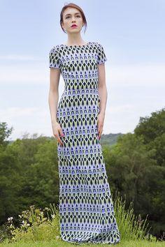 Ella Catliff - Matthew Williamson Dress - Among the Wisteria