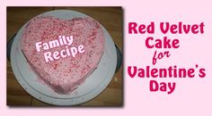 Planning to celebrate Valentine's Day at home with the kids? Consider #baking a #heart shaped red velvet #cake with pretty and delicious pink frosting for your family. Nothin' says lovin' like something from the oven, right?