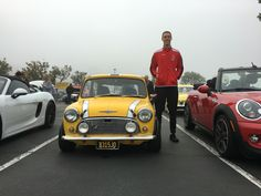Classic Minis and people who love them