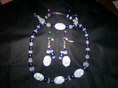Handmade Necklace and Earring Set Free Shipping S13