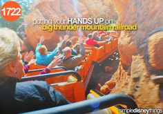 putting your hands up on big thunder mountain railroad