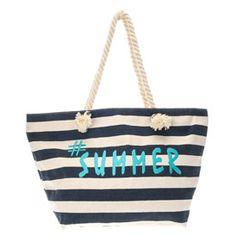 Stripe Summer Tote Bag - 10.00 euros
