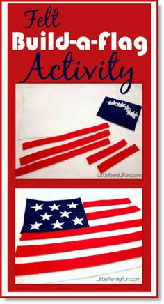 Fun Fourth of July Activity for Toddlers. American Flag - Fun Fourth of July Activity for Toddlers. Summer Crafts For Toddlers, Craft Activities For Kids, Toddler Crafts, Preschool Crafts, Toddler Activities, Preschool Age, Preschool Classroom, Activity Ideas, Summer Activities