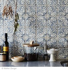 Moroccan and Cement Tile - Becki Owens