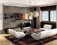 Вдохновляющие примеры использования каменной кладки в интерьере .