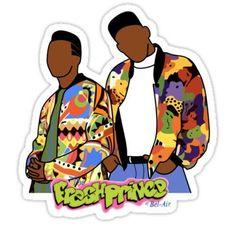 Fresh Prince Stickers