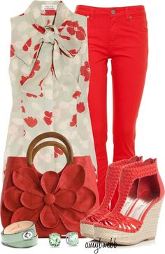 """""""Florals On Fire Contest 3"""" by amybwebb on Polyvore"""