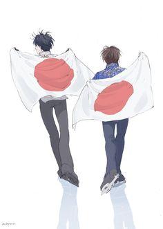 Yuzuru Hanyu & Shoma Uno