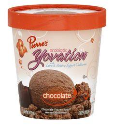Pierre's Probiotic Yovation Chocolate Frozen Yogurt