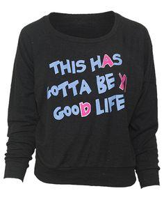 Alpha Xi Delta Good Life Crew Neck Sweatshirt