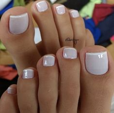 Pedicura nude