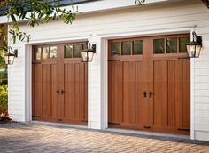 faux wood garage doors   Faux Wood Garage Doors Design Ideas, Pictures, Remodel, and Decor