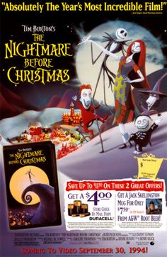 The Nightmare Before Christmas Poster at AllPosters.com