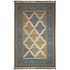 St. Croix Hacienda Blue Area Rug