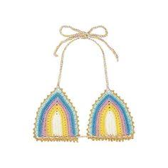 Romace Crochet Tri Bikini Top - FINAL SALE – PilyQ