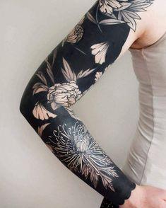 chrysanthemum+tattoo12