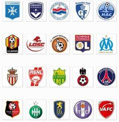 Télécharger logo équipe de foot ligue 1 France L1