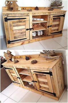 This rehashed wood pallet entryway table is an amazing addition to our corridor to give a classic welcome to the comers. The freedom with which we could leave it uncolored and unfinished is wonderful. By keeping it simple, it is giving a rustic and classic look to our space.