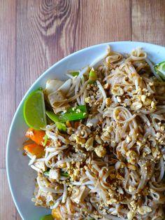 Le fameux Pad Thaï, un best of de Thaïlande dont je raffole...