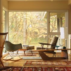 Mid-century mod!...reminds me of the cottage.