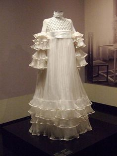 Dress for Emilie Flöge, designed by Gustav Klimt (reproduction, Wien Museum