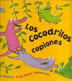 Los Cocodrilos Copiones by Carmen Elena Medina via slideshare Dual Language Classroom, Bilingual Classroom, Bilingual Education, Spanish Classroom, Classroom Ideas, Spanish Help, Spanish Lessons, Spanish Activities, Reading Activities