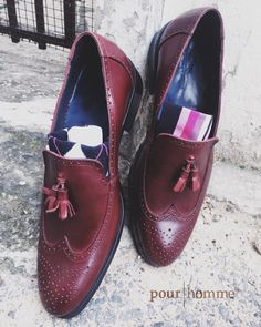 """101 Likes, 1 Comments - Pour Homme - Shoes & Leather (@pourhomme.vn) on Instagram: """"***Nothing Impossible*** #Leather #Loafer #Brogue #BlakeStiched #CalfSkin for Upper #CowSkin for…"""""""