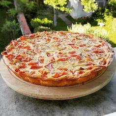 Tarte tomate sans pâte