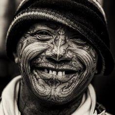 The Maori Tattoo, Background, Modern and Traditonal Tattooing Tools — Tattoos…