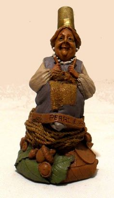 Tom Clark Gnome Pearl Artist Signed Retired 1992 SOLD