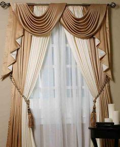 Scarf Valances Window Treatments