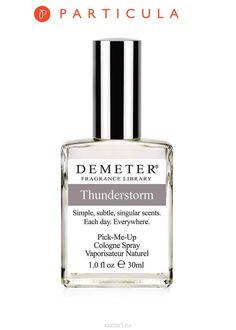 """Demeter Fragrance Library Духи-спрей """"Гроза"""" (""""Thunderstorm""""), унисекс, 30 мл - купить, цена demeter fragrance library духи-спрей """"гроза"""" (""""thunderstorm""""), унисекс, 30 мл в каталоге Парфюмерия от интернет-магазина OZON.ru"""