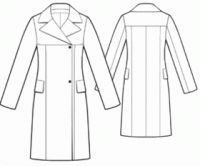 patron couture manteau femme gratuit 5