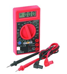 Get one of these, a multimeter...this one is from harbor freight tools 3 or 4 bucks or free with  a coupon and a 9.00 purchase.  I'll show you how to use it around the house and on your car.  Very useful and easy.