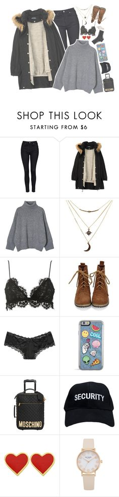 """""""ideal airport fashion"""" by bvngtangboys ❤ liked on Polyvore featuring Topshop, Humör, Charlotte Russe, Isabel Marant, Victoria's Secret, Moschino and kpop"""