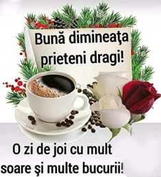 Imagini buni dimineata si o zi frumoasa pentru tine! - BunaDimineataImagini.ro Lettering, Tableware, Thursday, Dinnerware, Tablewares, Drawing Letters, Dishes, Place Settings, Brush Lettering