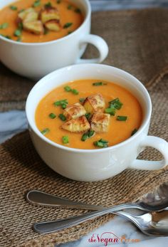 Creamy Sweet 'n' Gold Potato Soup