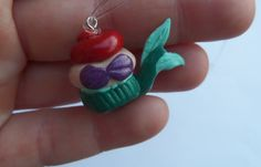 Princess Ariel cupcake from Disney the Little Mermaid! Part of your World!! So sweet!
